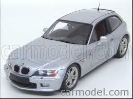bmw z3 wagon ut models 20421 scale 1 18 bmw z3 coupe 1999 silver