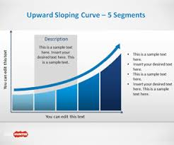 free upward sloping curve template for powerpoint is a nice curve
