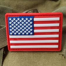 American Flag Morale Patch 3d Tactical Flag Patch Canada Usa German Army Morale Pvc Badge