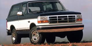 bronco jeep 2017 ford bronco poised for comeback as o j simpson leaves jail