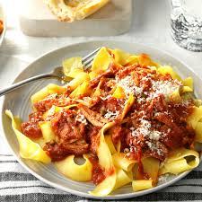 sicilian meat sauce recipe taste of home