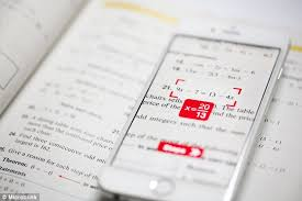 photomath app uses your phone u0027s camera to solve any equation it