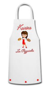 tablier de cuisine personnalisé tablier de cuisine femme pizza pizzaiola personnalisé avec prénom