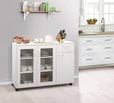 white storage cabinet for kitchen brand furniture buffet 45 5 w x 15 d x 33 h white