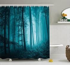 Teal Curtains Dark Teal Curtain Amazon Com