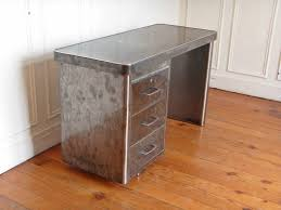 bureau industriel metal bureau industriel en metal style and steel jpg tables bureaux