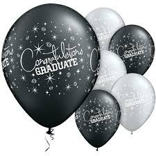z congratulations graduate grad decorations and balloons