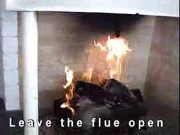 Gas Fireplace Flue by How To Work The Gas Fireplace Youtube