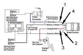 wiring diagram electric brake controller trailer brake controller