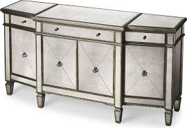 Mirrored Sideboards And Buffets by Butler Celeste Mirrored Buffet Transitional Buffets And