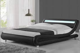 bed frame with lights led beds beds with lights led bed frames free uk delivery crazy