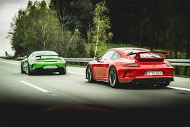 porsche gt3 widebody 2018 porsche 911 gt3 vs 2018 mercedes amg gt r love at first