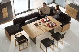 möbel stühle esszimmer essgruppe essbank aus leder voglauer möbel stühle esszimmer
