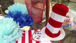 Party Centerpieces The Cat In The Hat Party Bags Party Centerpieces Party