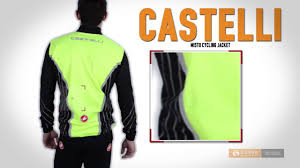 yellow waterproof cycling jacket castelli misto cycling jacket waterproof full zip for men