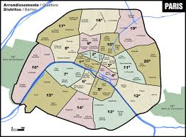 Denver Neighborhoods Map Paris Neighborhoods Map Map Of Paris Neighborhoods France