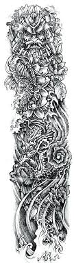 japanese designs warriors sleeve tattoos photo 3 free