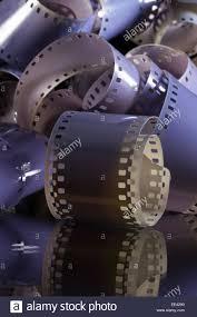Glasschreibtische Nahaufnahme Von Eine Rolle 35 Mm Filme Auf Einem Glasschreibtisch
