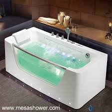 Wholesale Bathtubs Suppliers China Contemporary Design Simple Style Large Stand Alone Whirlpool
