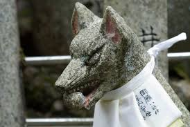 japanese guard dog statues jeffrey friedl s fushimi shrine generations