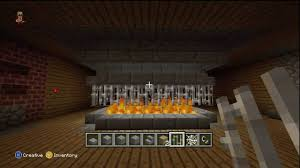 minecraft how to make a redstone fireplace youtube also fireplace