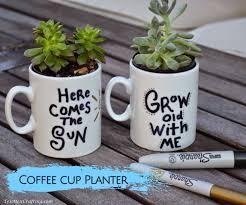 coffee cup flower pot 5 breathtaking decor plus coffee mug mockup