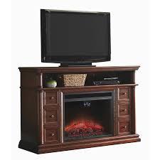 shop allen roth 62 in w 5 120 btu warm cherry wood infrared