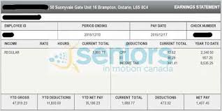 pay stub template ontario 28 images pay stub template free