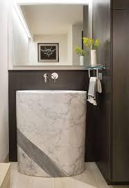Powder Room With Pedestal Sink Bathroom 21 Inch Pedestal Sink Pedestal Sinks Pedestal Sinks
