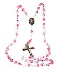 pink rosary view all communion rosaries catholic faith store