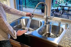 low water pressure kitchen faucet low water pressure sink faucet thelodge club