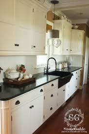 modern kitchen countertop ideas 10 elements of a farmhouse kitchen stonegable