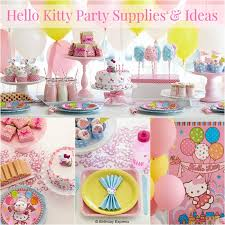 Hello Kitty Party Decorations Hello Kitty Party Supplies Oh So Pretty In Pink