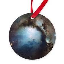 lagoon nebula oval ornament ornaments for astronomy