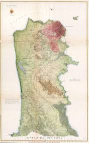 San Francisco Topographic Map by File 1869 U S C S Map Of The San Francisco Peninsula