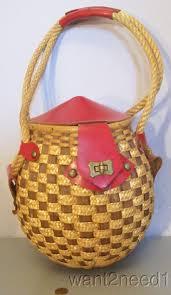 wicker basket with leather handles 70 best korgar images on pinterest wicker basket and vintage