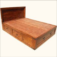fresh amazing captains bed queen plans 20818