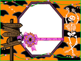 halloween picture frames frame decorations