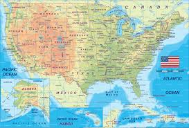 Us Map With Alaska by Map Of United States And Hawaii Thefoodtourist