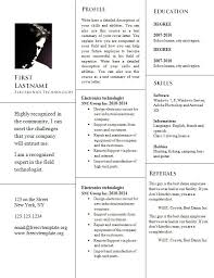 Resume Template In Word Format Free Cv Resume Word Template 946 U2013 Free Cv Template Dot Org