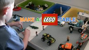 Diy Lego Table by How To Make A Lego Table Diy Justgiveitago Awesome Youtube