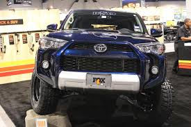 toyota 4runner lifted the fifth gen toyota 4runner built for action at sema 2014 off