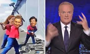 msnbc lawrence o donnell desks msnbc tyrant lawrence o donnell has a rough night after video of him