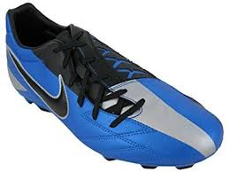 Nike T90 nike t90 shoot iv firm ground football boots 7 blue