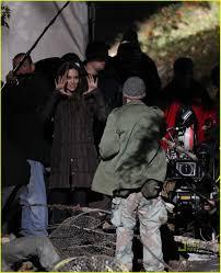 Angelina Jolie Mansion by Angelina Jolie Kiss Behind The Camera With Brad Pitt Photo