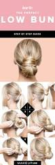 best 25 low bun tutorials ideas on pinterest easy low bun low