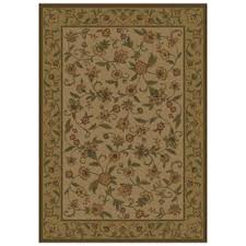 shaw living rectangular multicolor floral area rug common