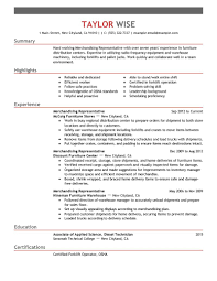 Home Depot Resume Sample by Best Merchandising Representative Resume Example Livecareer