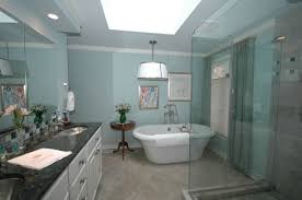 small blue bathroom tiles ideas and pictures brown floor conglua