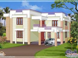 204 square meter flat roof house kerala home design and floor